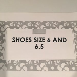 Shoes - AWESOME SHOES SIZE 6 and 6.5